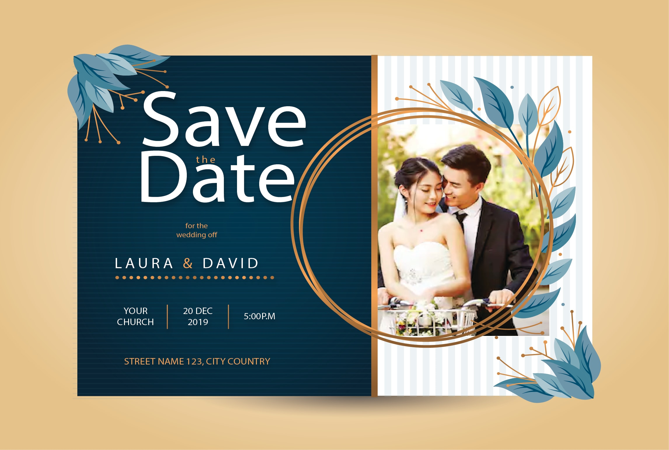 Design very creative wedding cards invitation for you by Ayesha_a | Fiverr