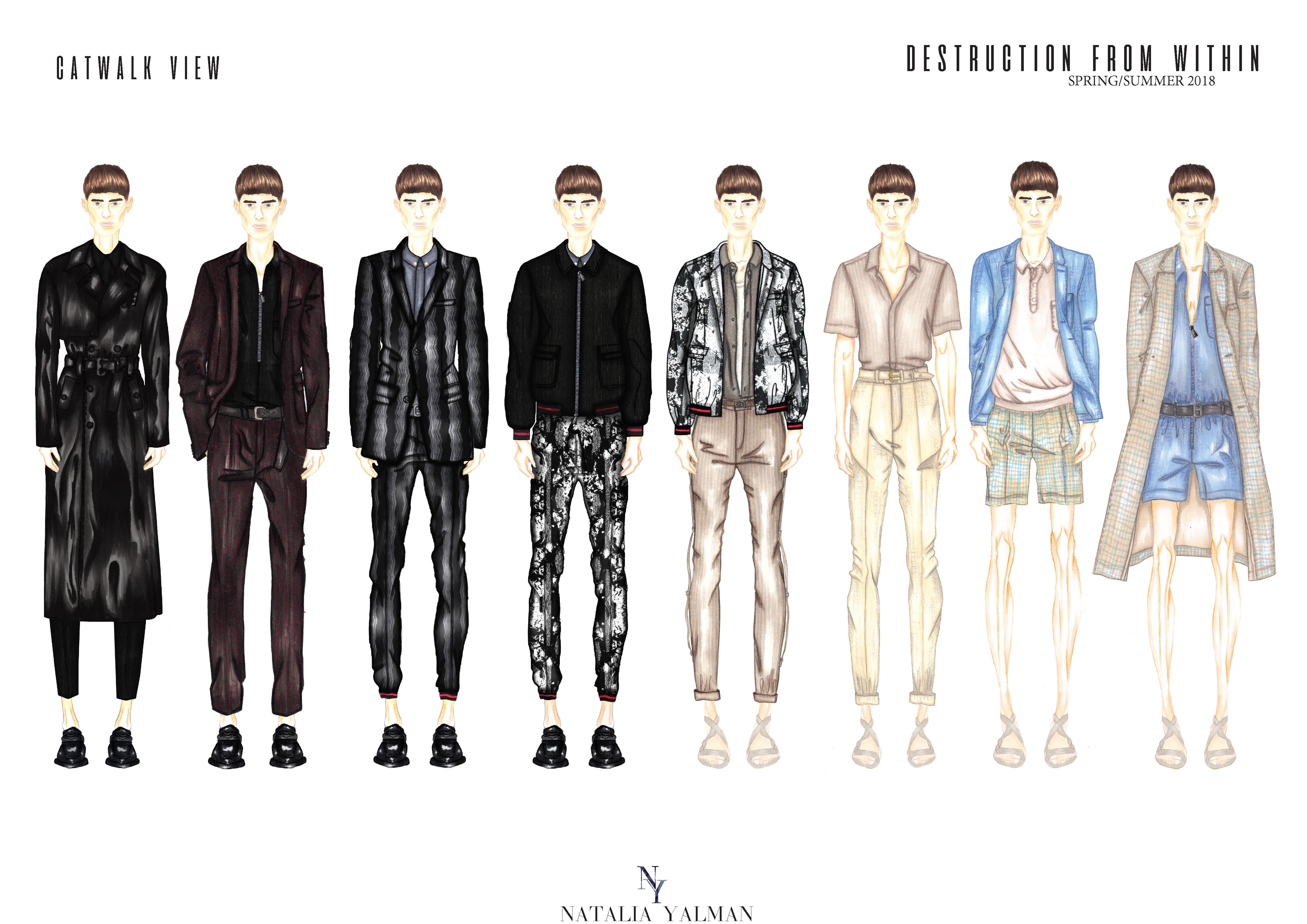 Do Fashion Design For Menswear By Nataliayalman