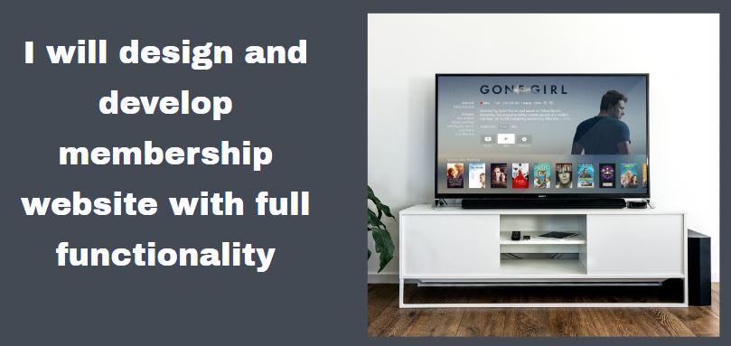 Build Membership Website Membership Nonprofit Group Association And Social Media By Tenywhite Sales