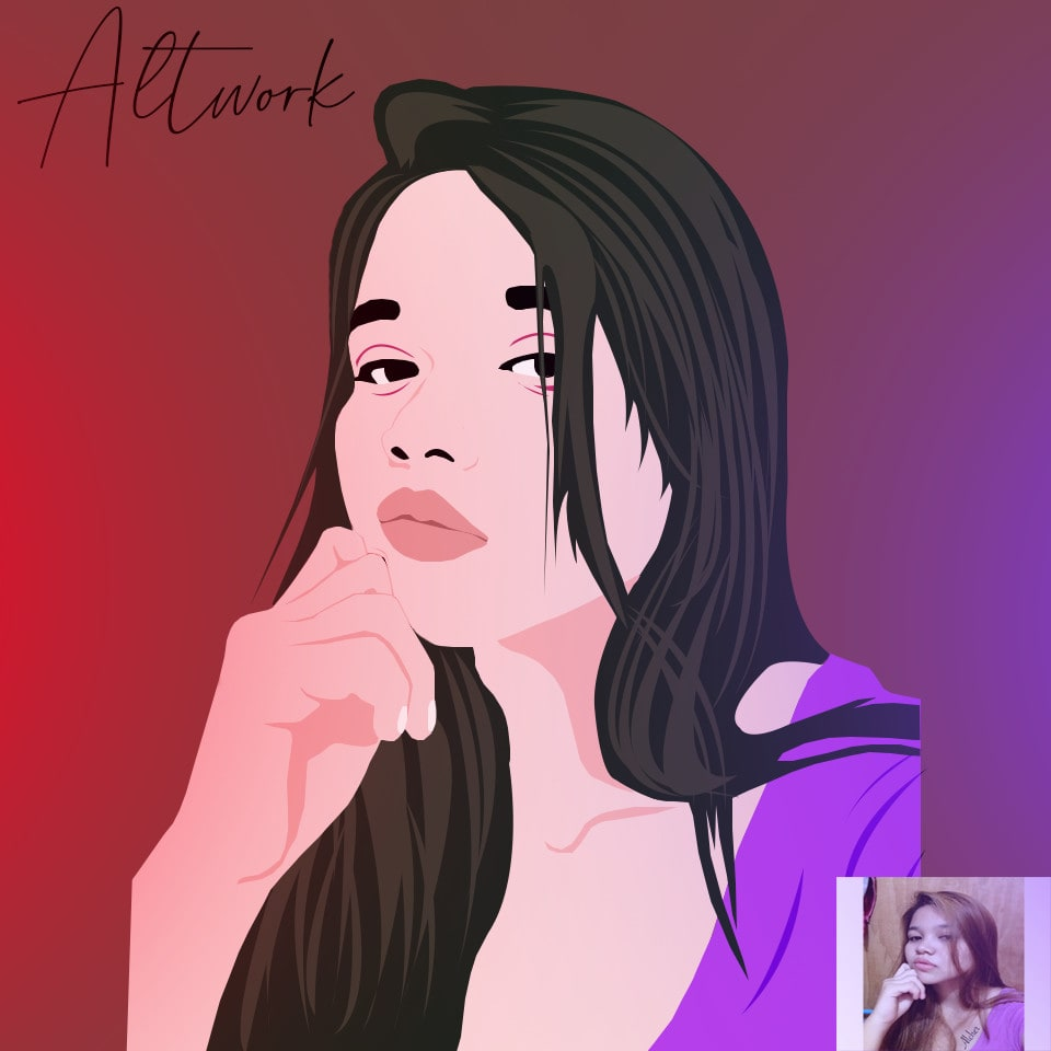 Make Your Picture Into Cartoon By Alcherb