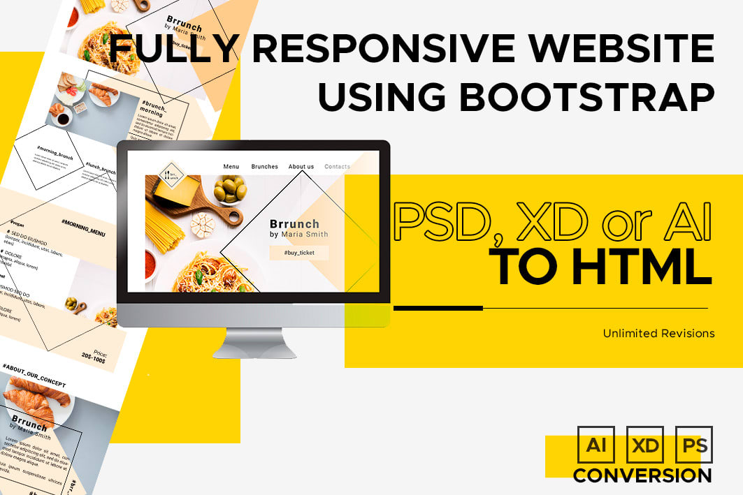 Be Your Frontend Web Developer Html Css Bootstrap By Fabianasalazar