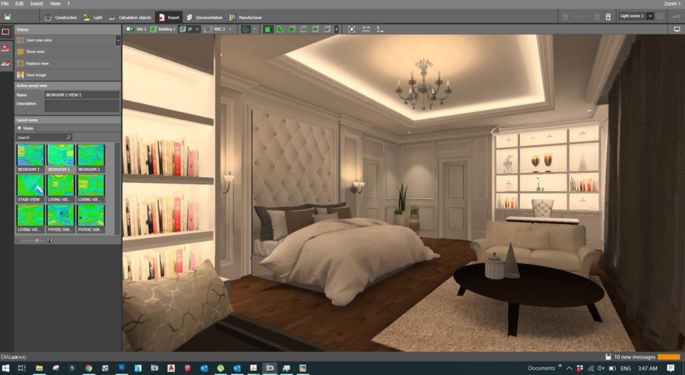 Lighting Design Dialux Evo By Eslamhassan186
