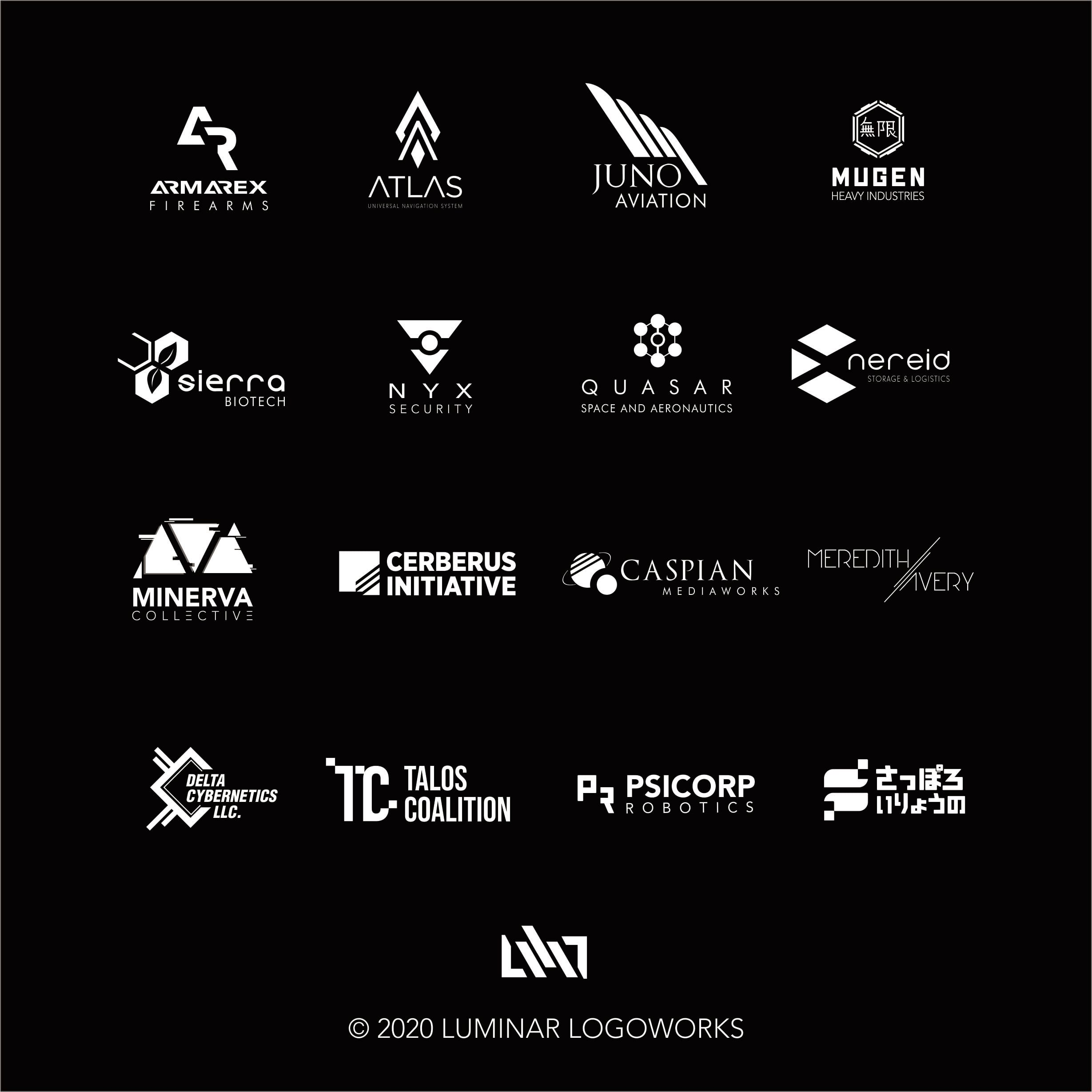 do minimalist cyberpunk themed logo for your business or project by luminar design do minimalist cyberpunk themed logo for your business or project