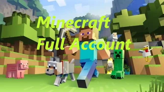 Send You Minecraft Original Acc By Samuelubrt