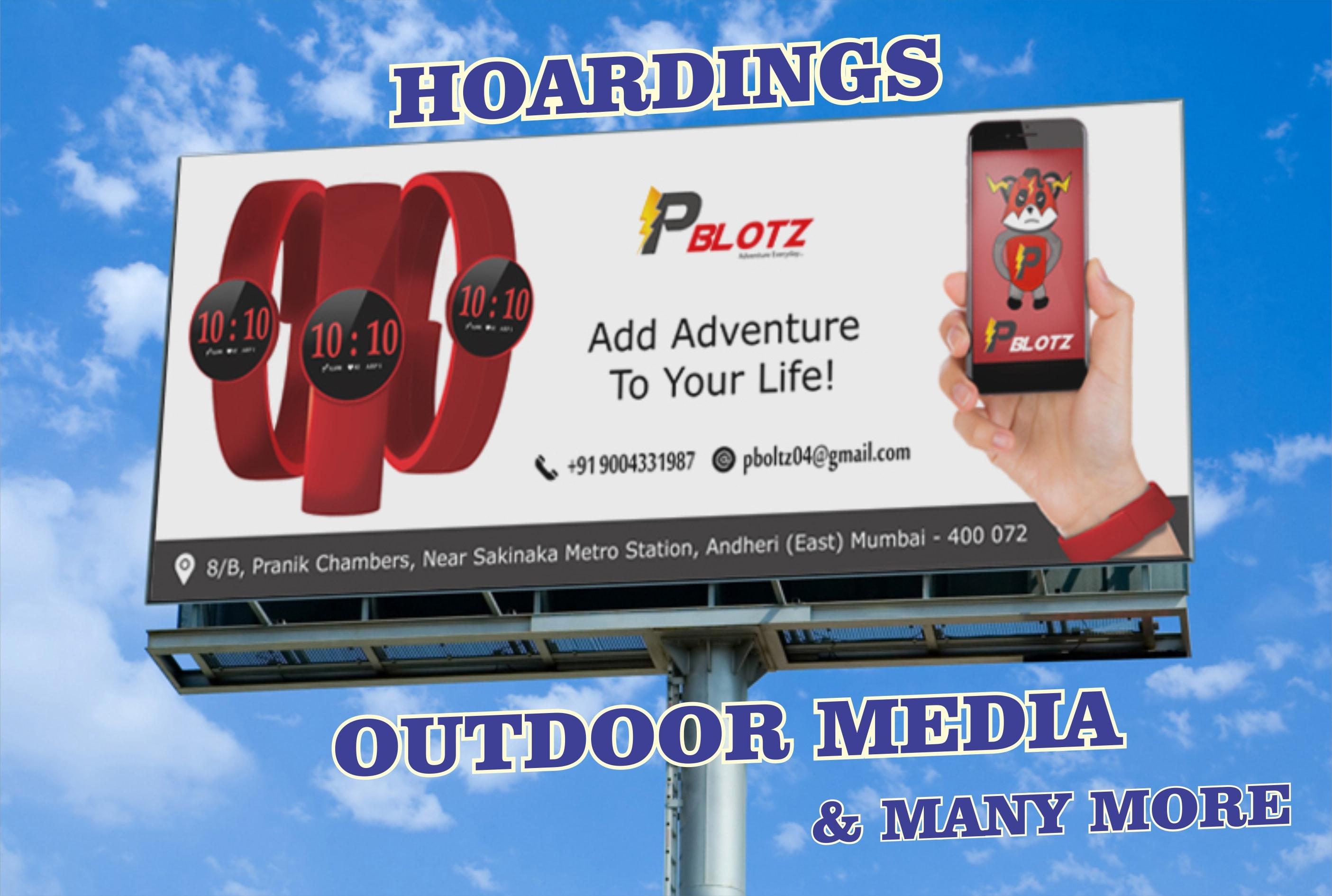 Design banner hoarding advt like a pro for print media by Pratikpatel218 |  Fiverr