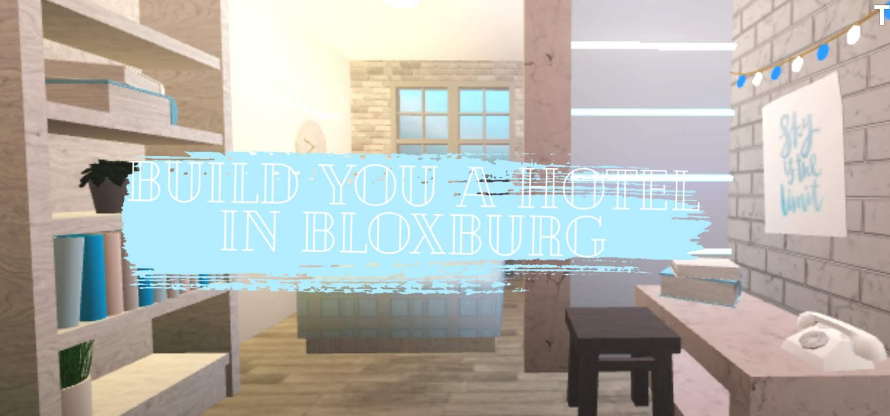 Roblox Bloxburg Hotel Ideas