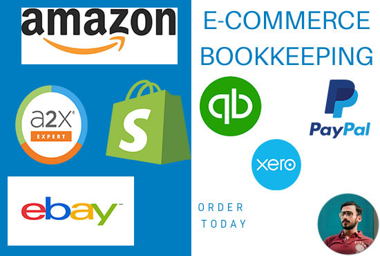 Do Bookkeeping For Ecommerce Amazon Fba Ebay Shopify By Theuikhan
