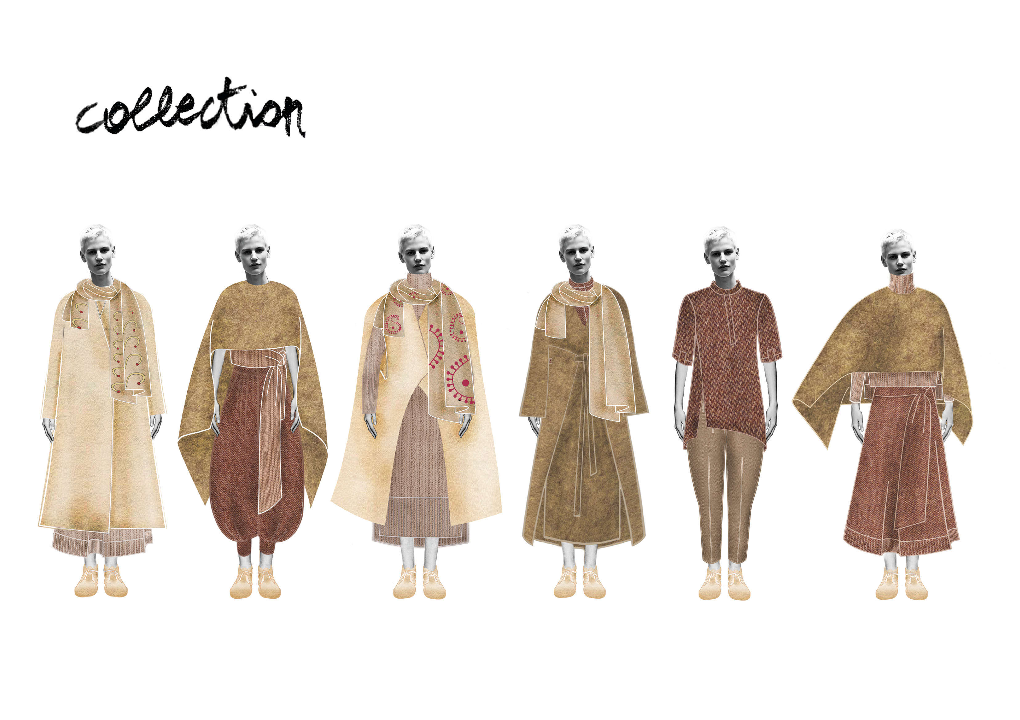 Draw Fashion Technical Illustration For Clothes By Marjan