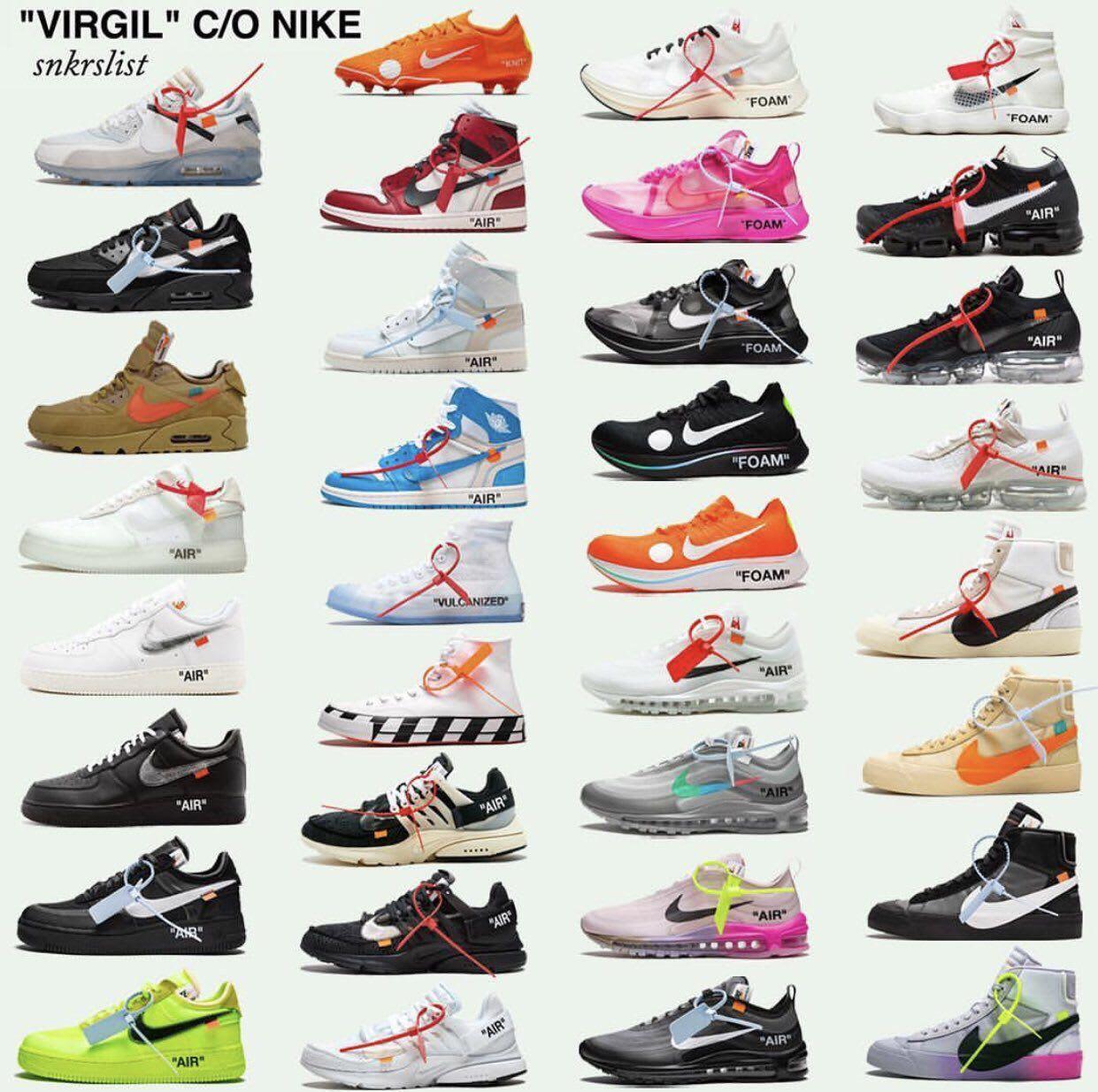 Legit check every nike x off white shoe