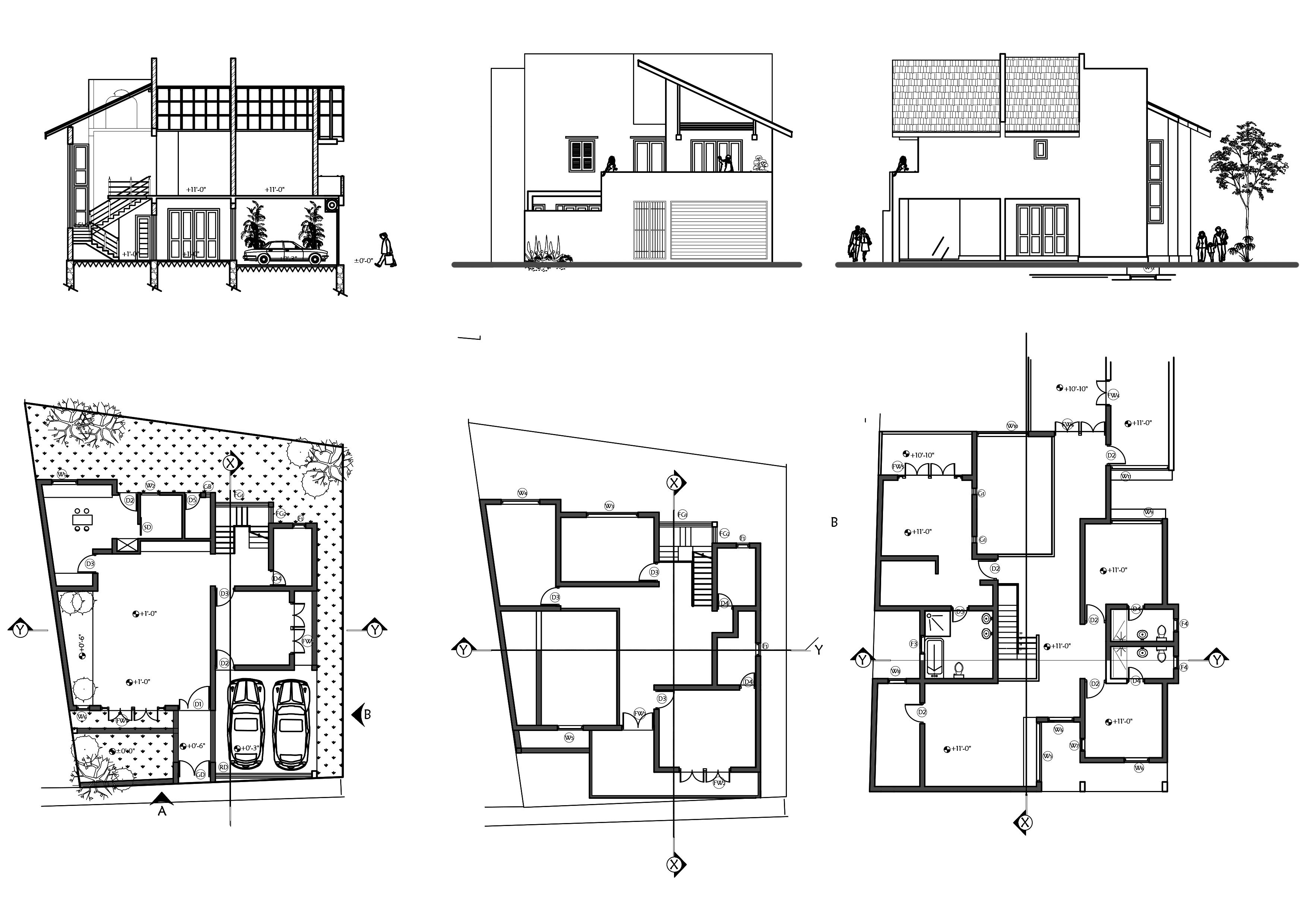 Draw Your Floor Plan Section Elevation In High Quality By Buwanekajay Fiverr