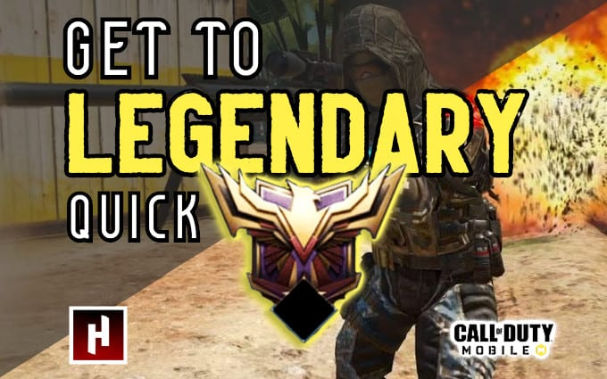 Get You To Legendary In Cod Mobile By Rtpackard