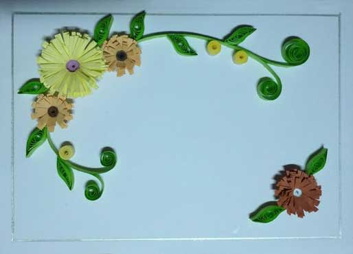 Peachy Make Beautiful Handmade Paper Quilling Greeting Card By Personalised Birthday Cards Cominlily Jamesorg