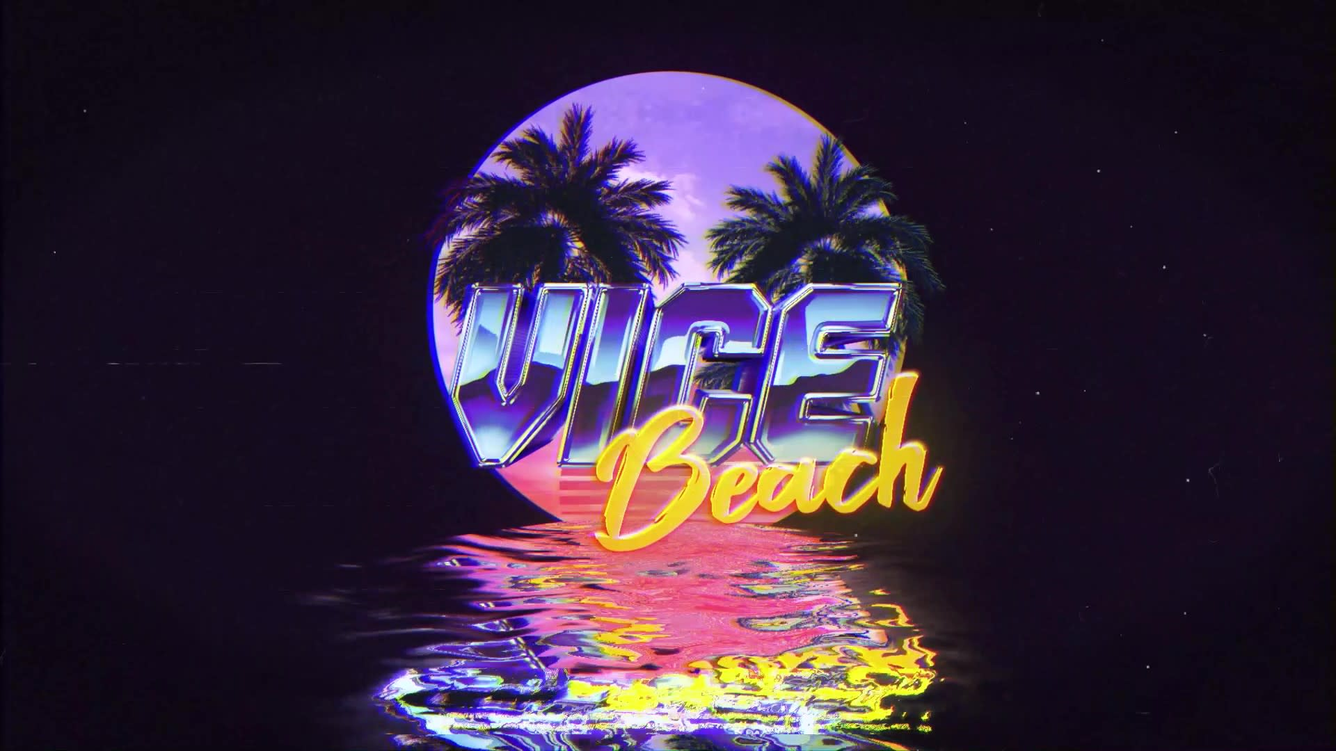 Make A Retro Logo Intro With Synthwave Vibes By Johngomez10