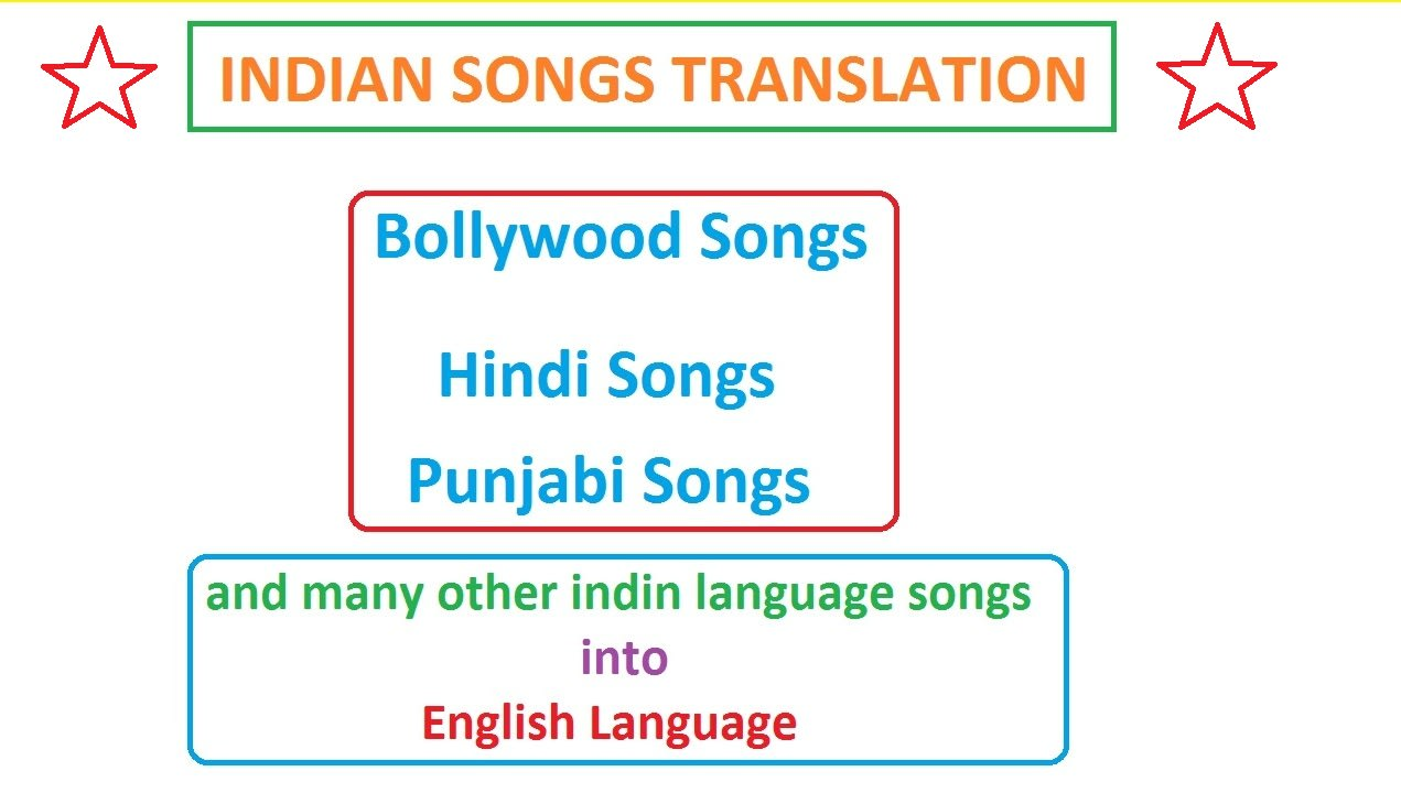 Translate Indian Songs Into English Language By Lyricsmeanings The new periodic table song. fiverr