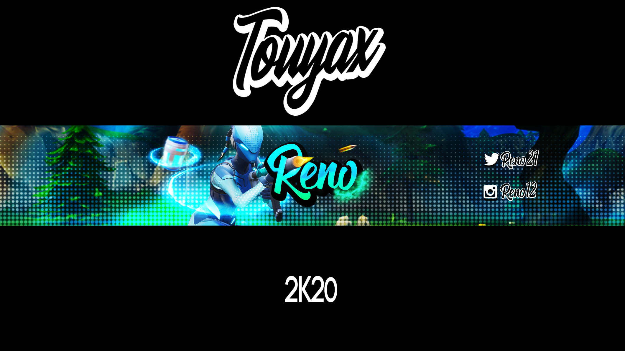 Fortnite Pictures For Art Banner Design A Fortnite Youtube Banner By Touyax Fiverr