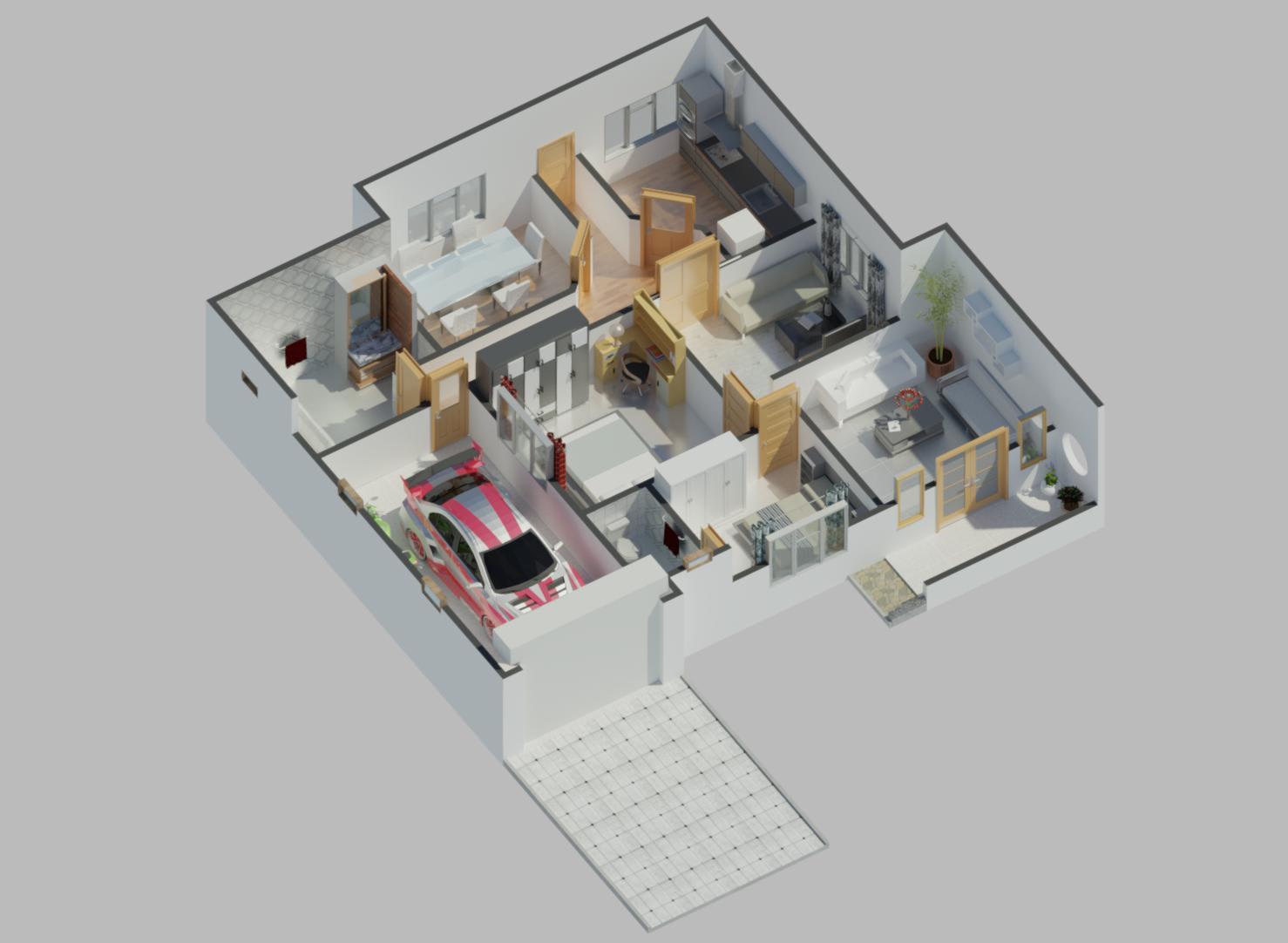 Create 3d Floor Plans 2d Floor Plans With Hq Renders By Bravo6goingdark Fiverr