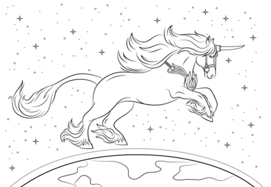 Sell You Unique Magic Unicorn Coloring Pages By Freelancersland