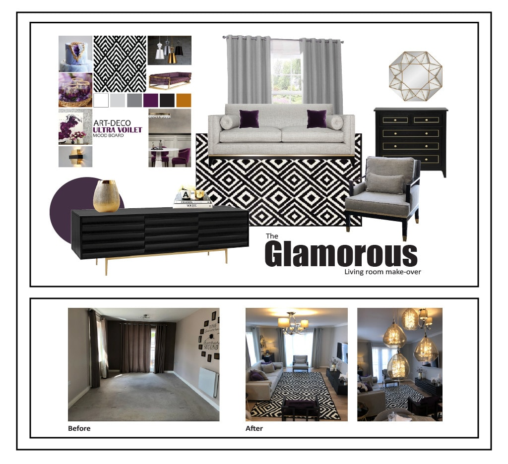 Interior Design Your Space In A Concept Mood Board By Komal Fahad,Interior Furniture Interior Home Decoration Ideas