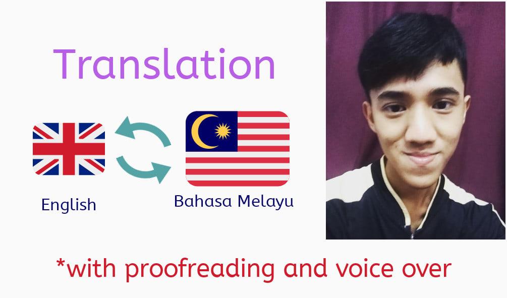 Translate English To Bahasa Melayu And Vice Versa By Hazmihisyam