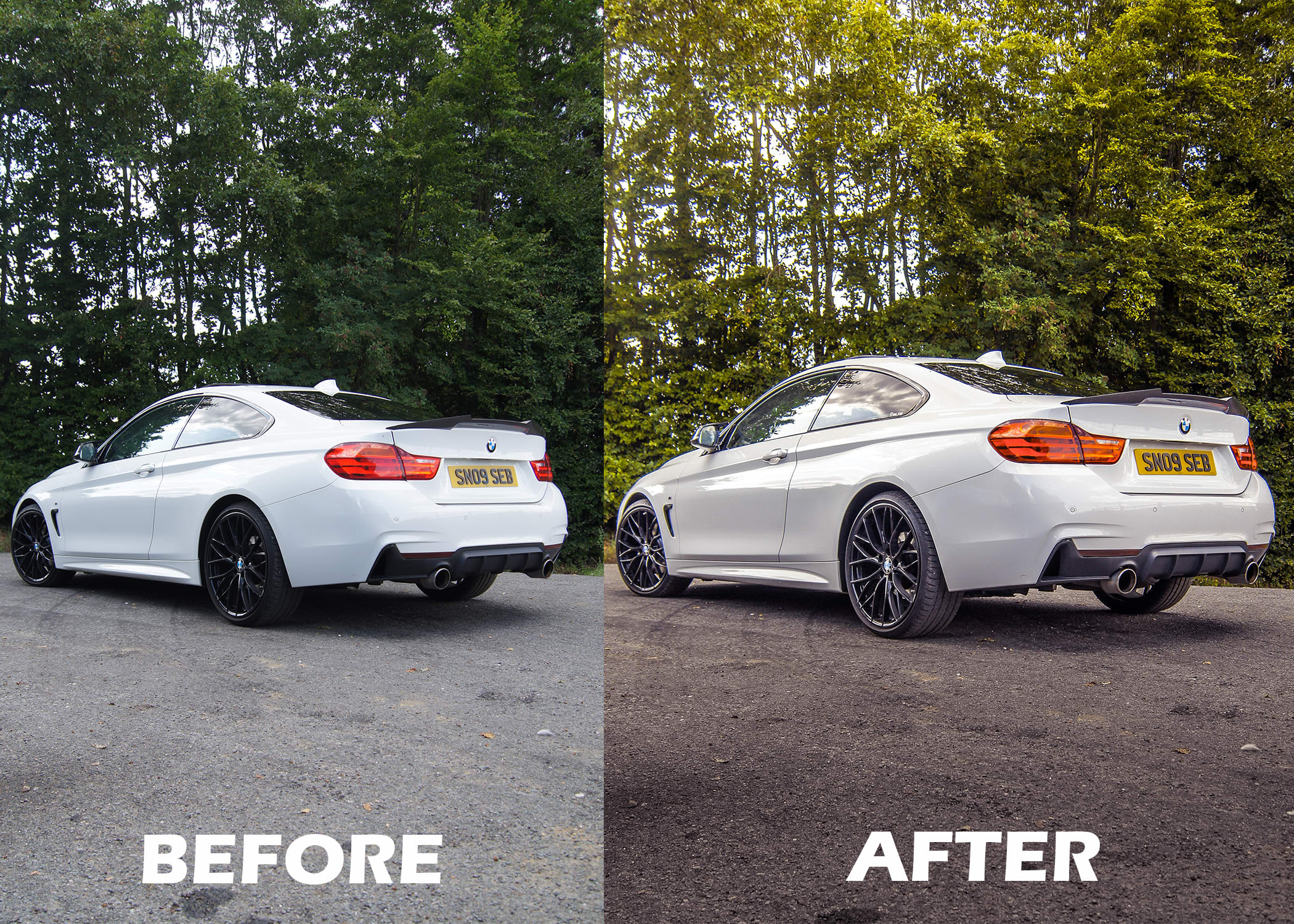 Edit Correct And Color Grade Your Car Photos By Schorle27