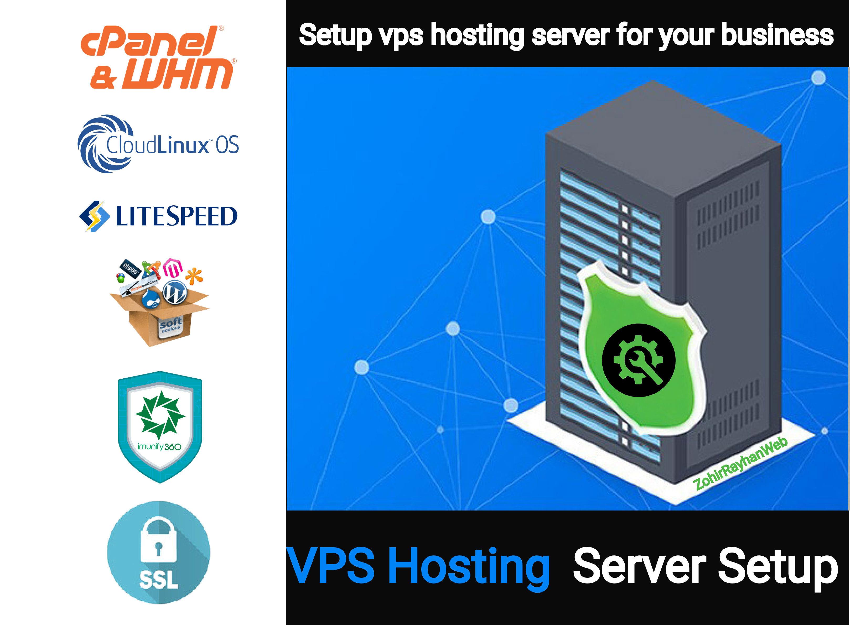 как сменить название сервера на хостинге