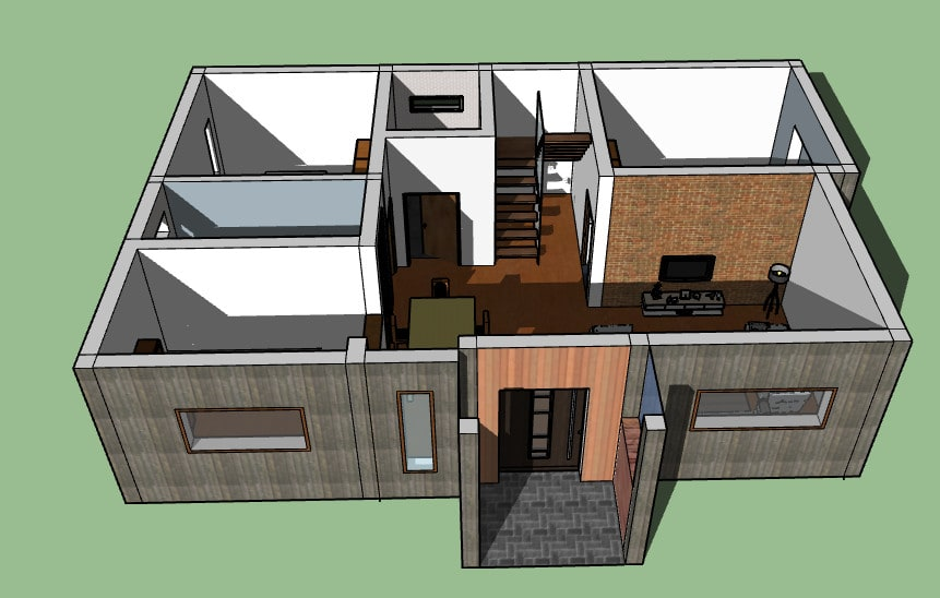 Make 2d Plan And 3d House Model For You By Vishpender