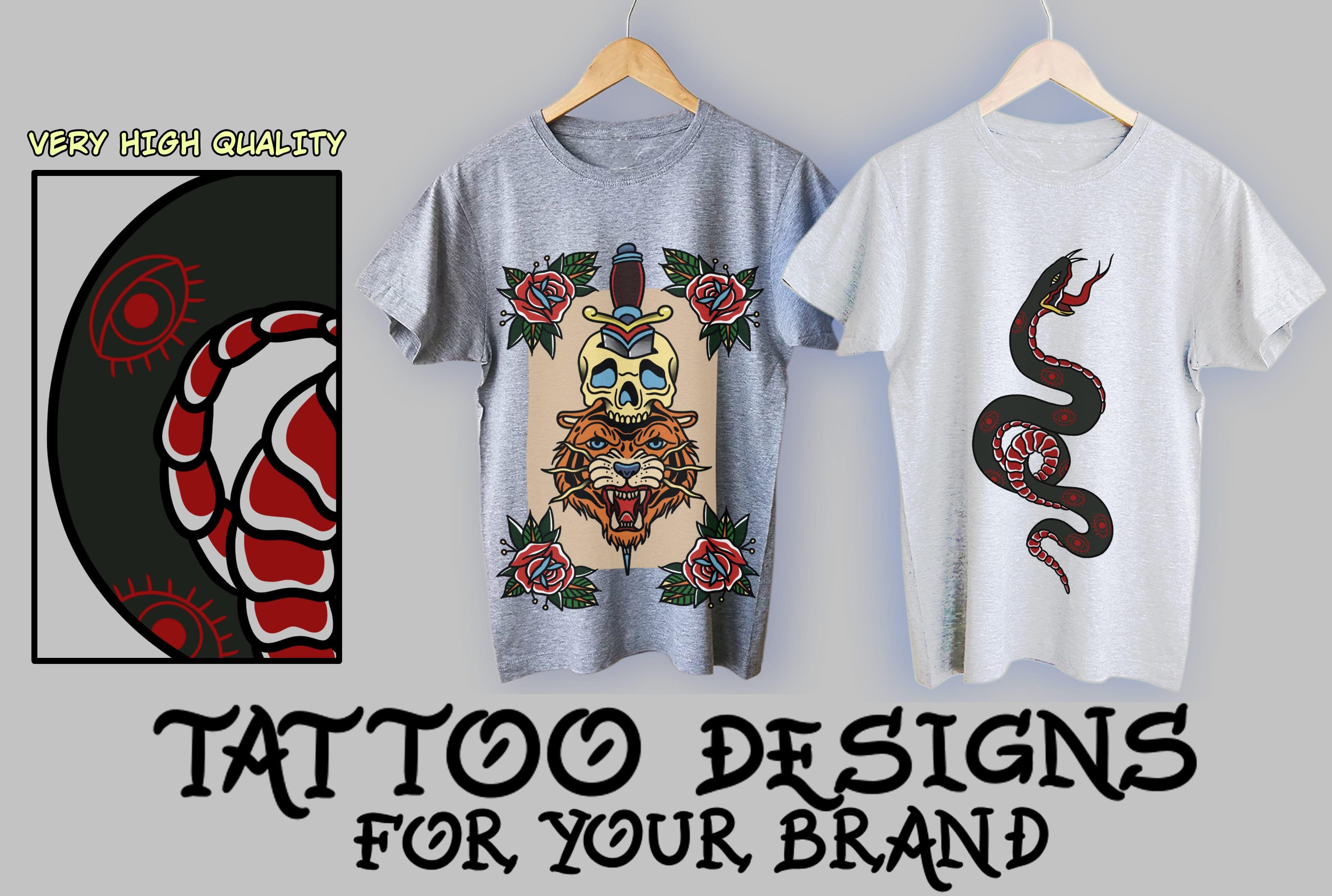 Create a cool custom t shirt design tattoo inspired by Freyess | Fiverr