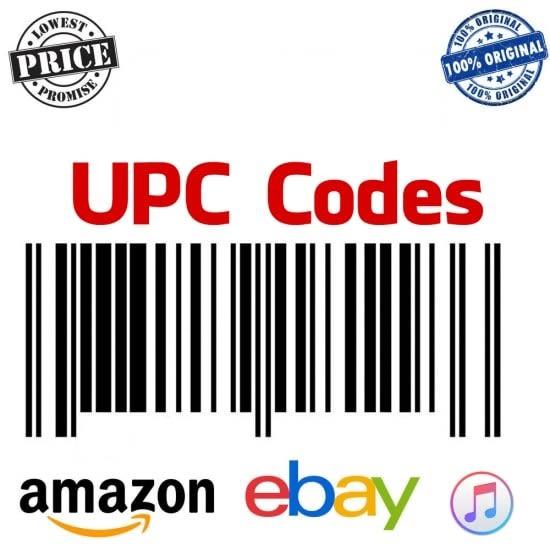 Give You Upc Ean Bar Code Numbers For Amazon Ebay Listings By Tatianaslobodia