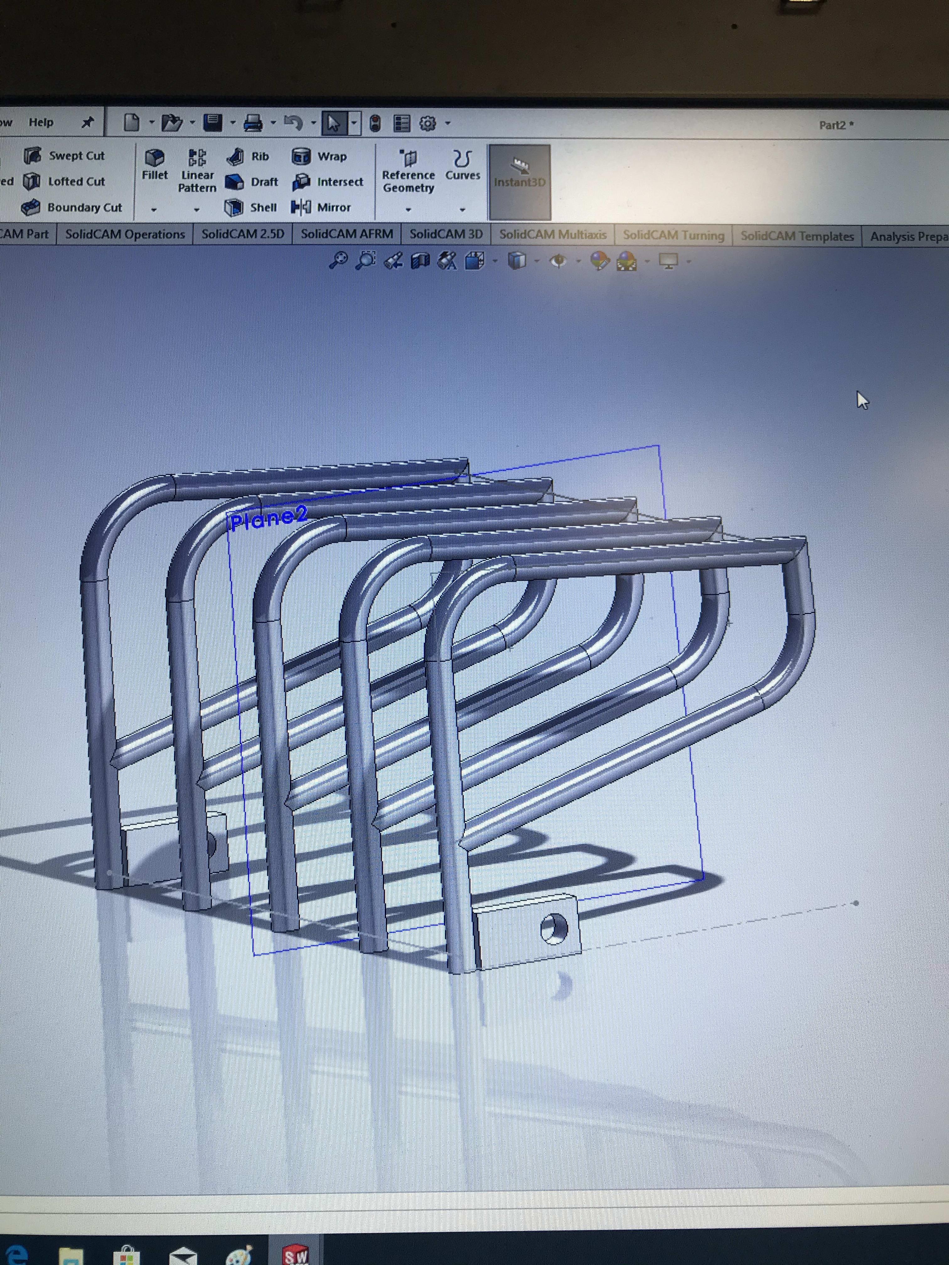 работа создание 3d модели в solidworks