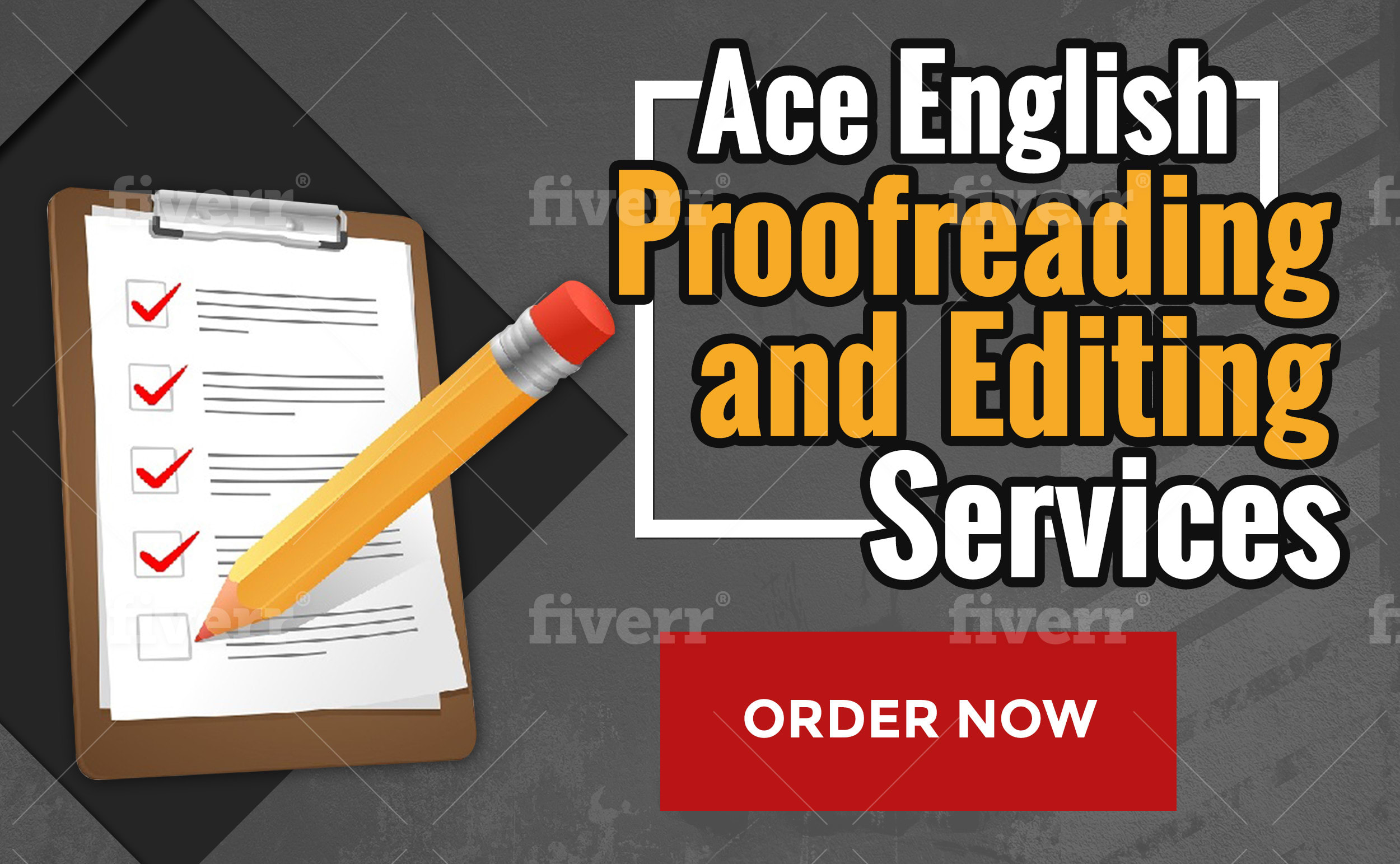 English Editing Services