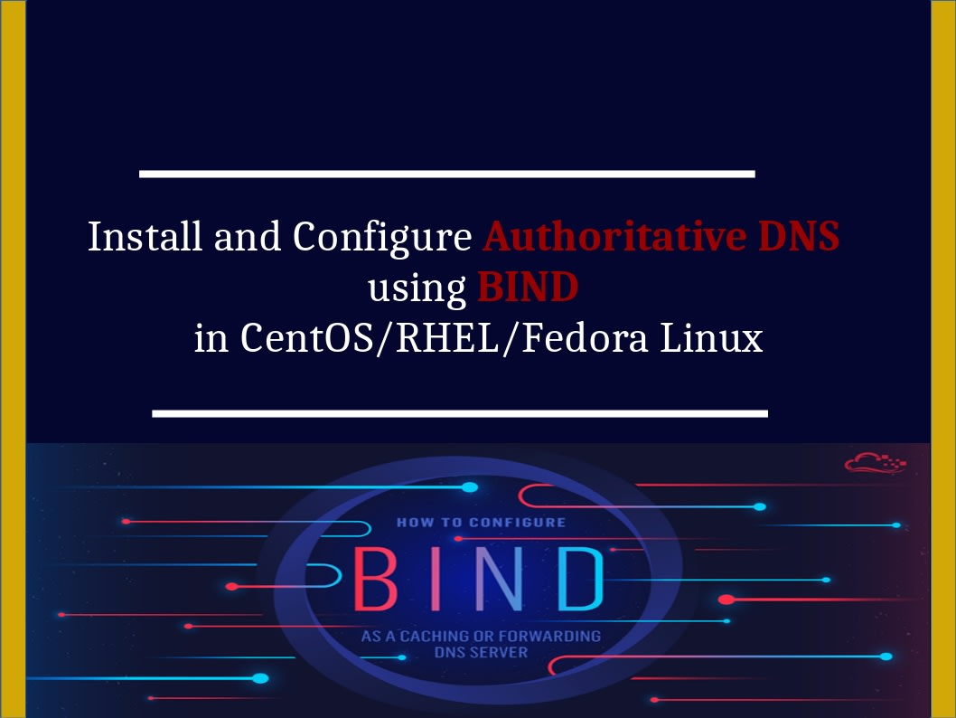 Install And Setup Domain Name Server Using Bind In Linux Os By Zainabkhawla