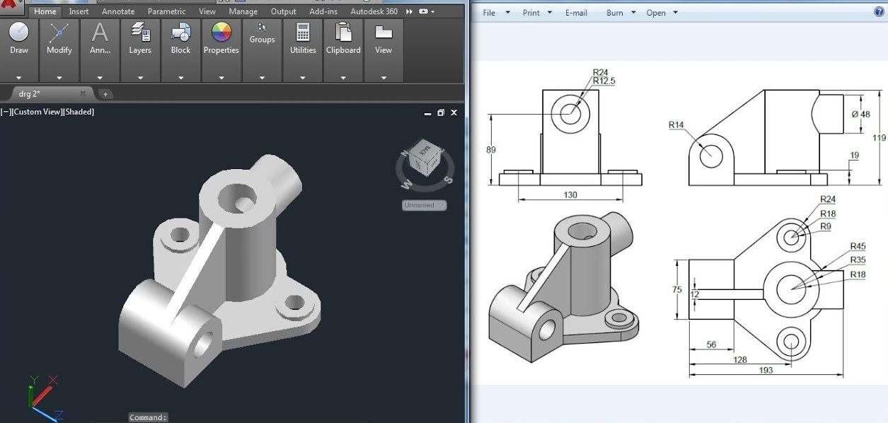 Provide Mechanical Autocad Designs By Praveenspatil
