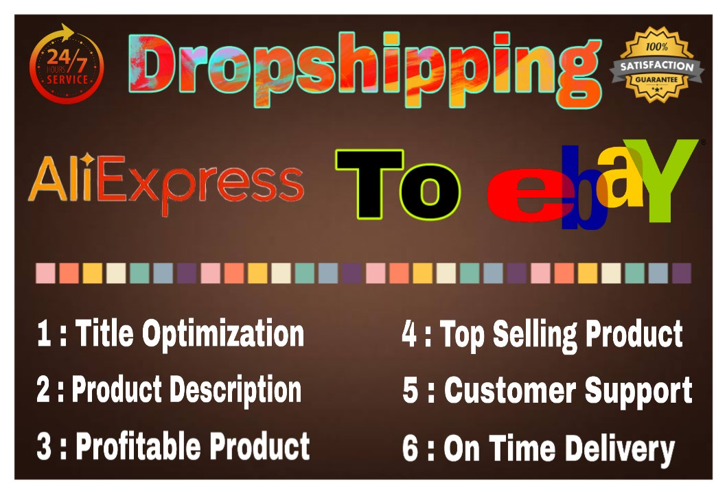 Do Aliexpress To Ebay Dropshipping Hot Product Listings By Ecommarshad
