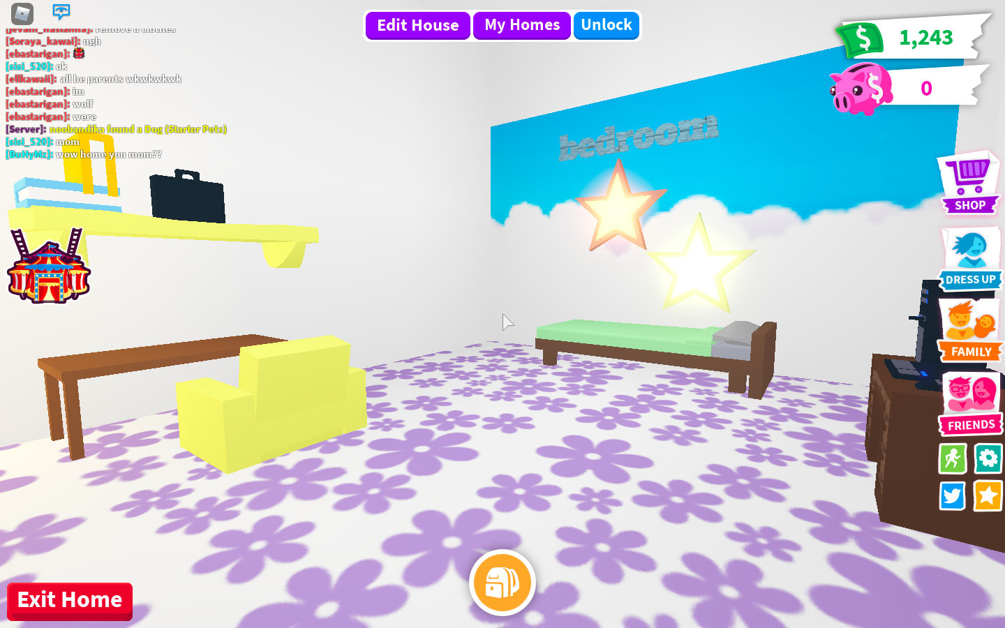 Image of: Decorate Your House In Adopt Me Roblox By Glorianneganda