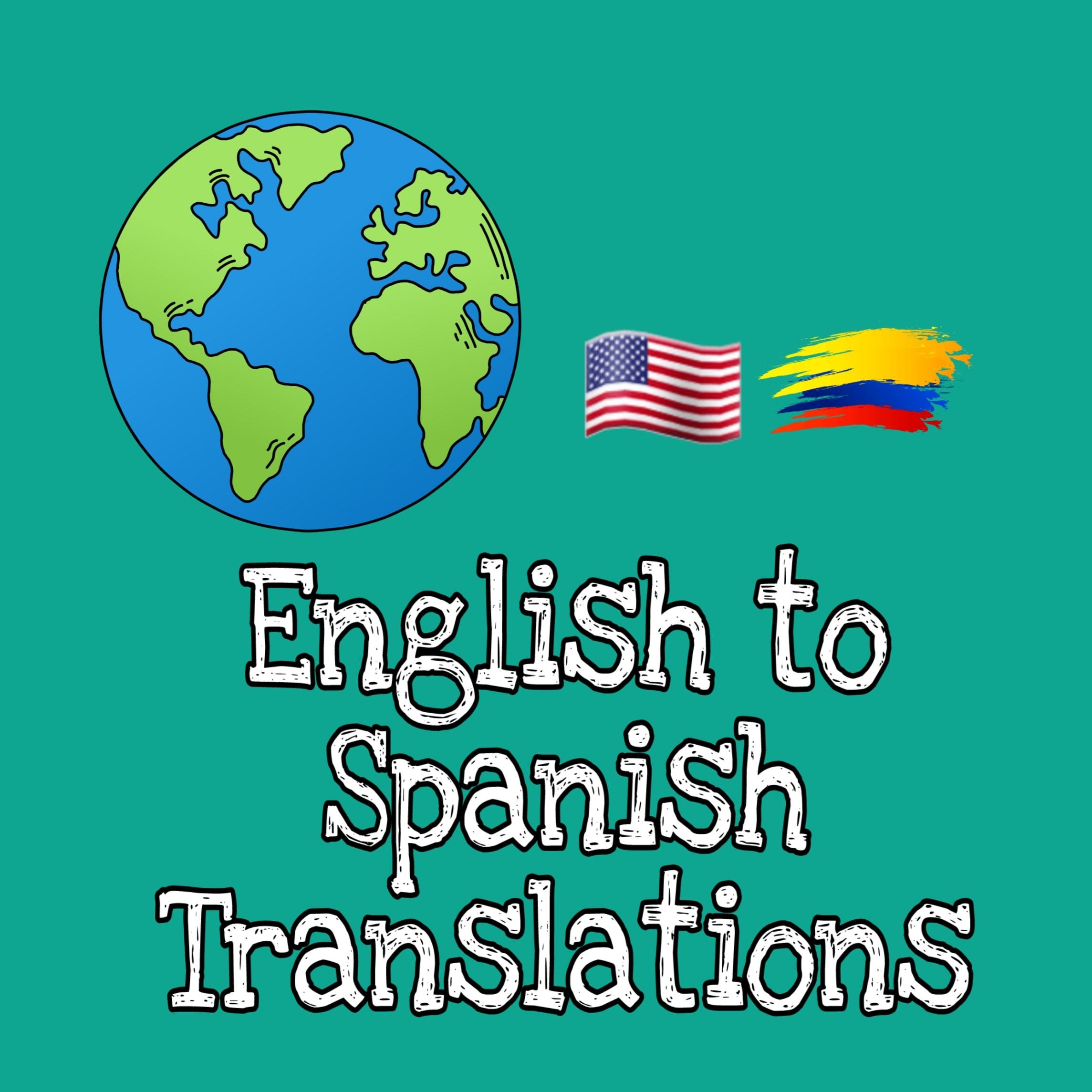 Translate english to spanish by Johanaar
