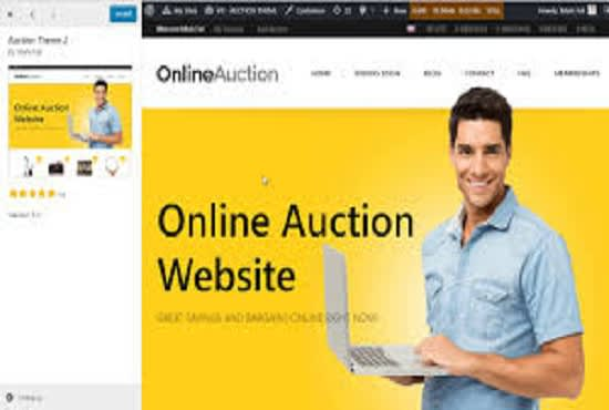Design A Wordpress Auction Website For Your Business By Murphy Expert