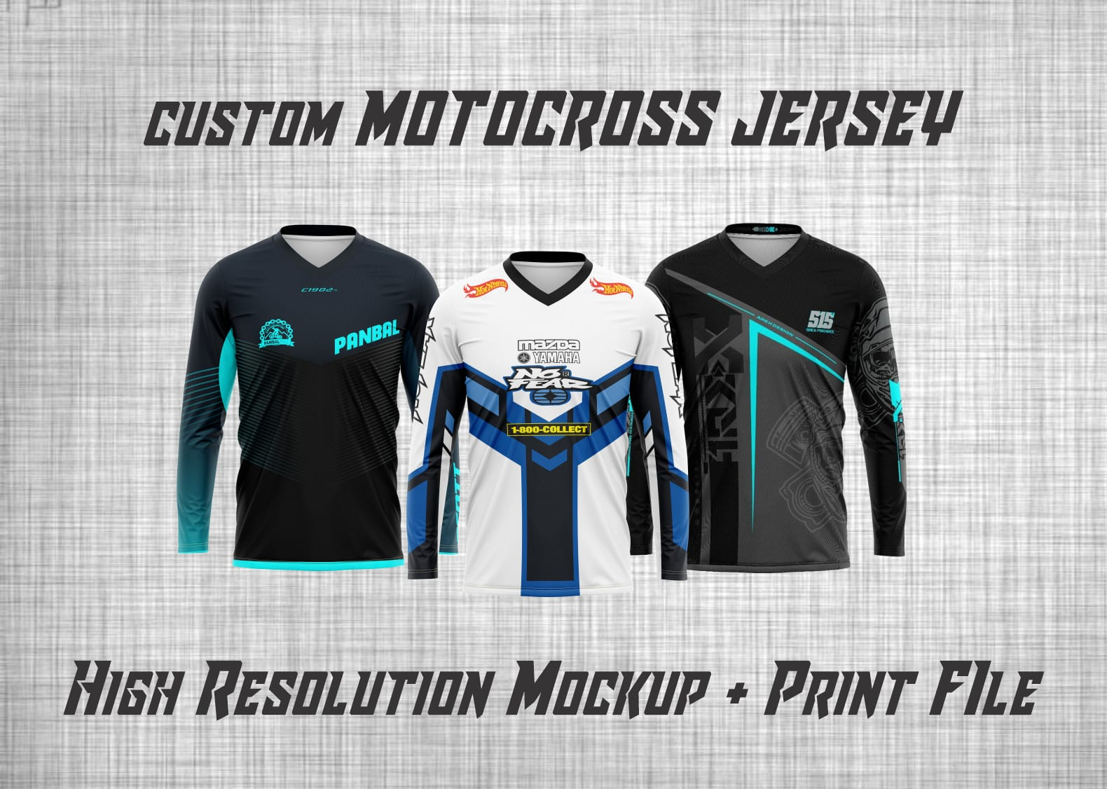 Design Amazing Motocross Jersey For Sublimation By Irfan Jipper