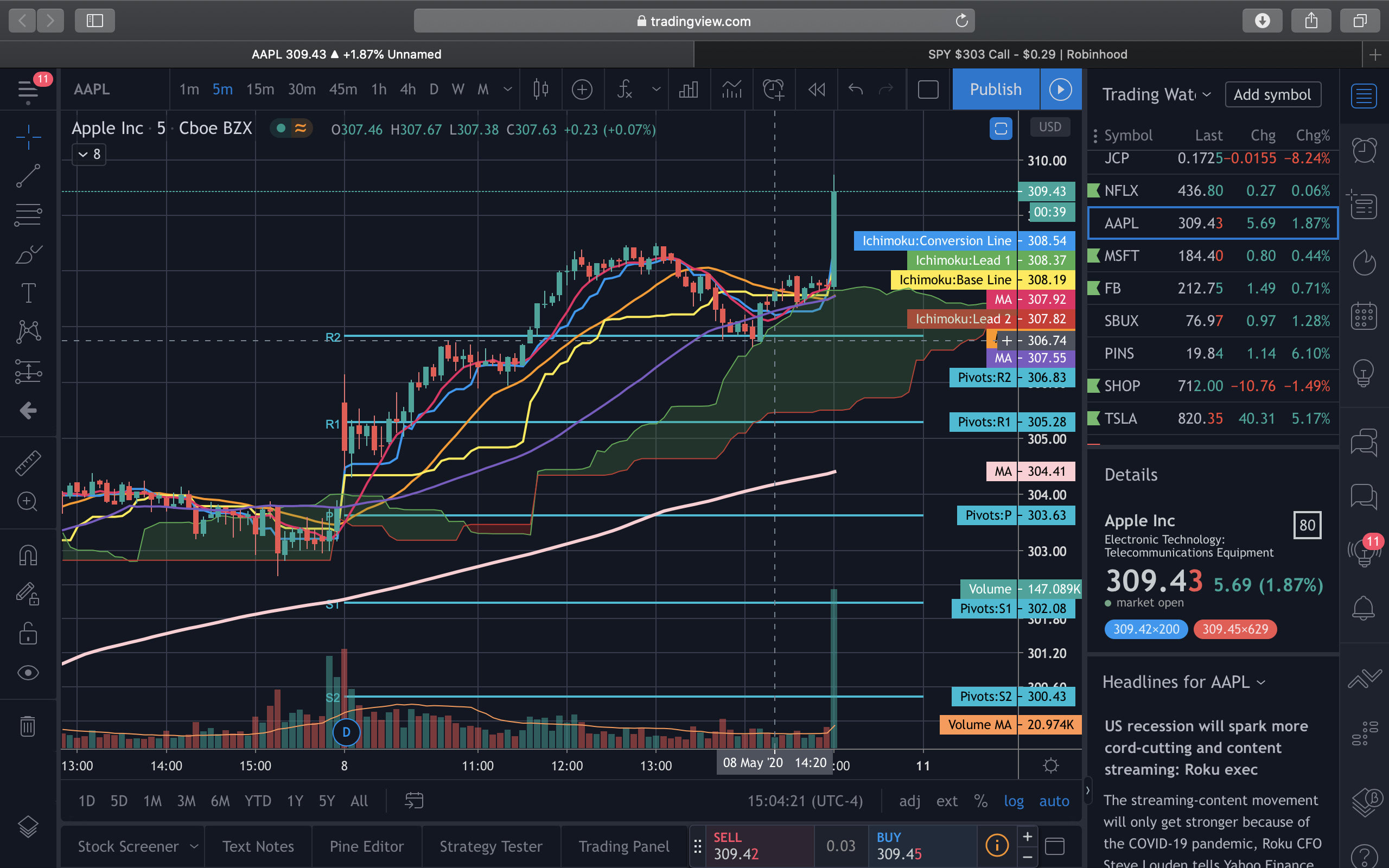 Teach you stock trading, options, chart analysis by Bilalahmed425
