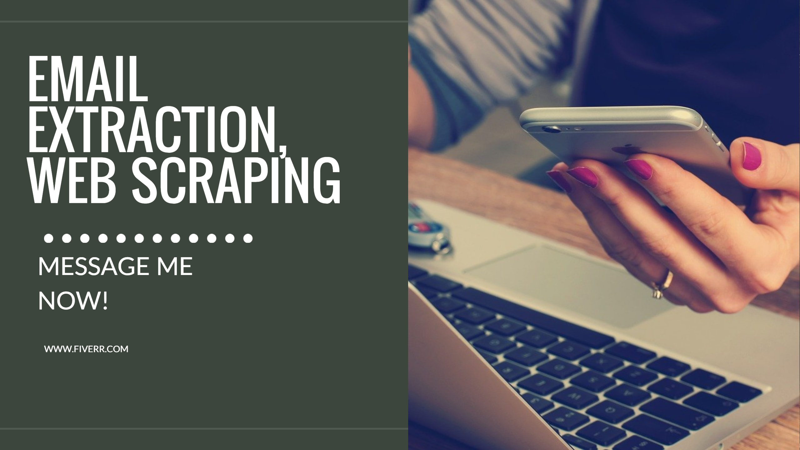 Do Email Extraction Web Scraping And Data Mining By Kajalkundu116