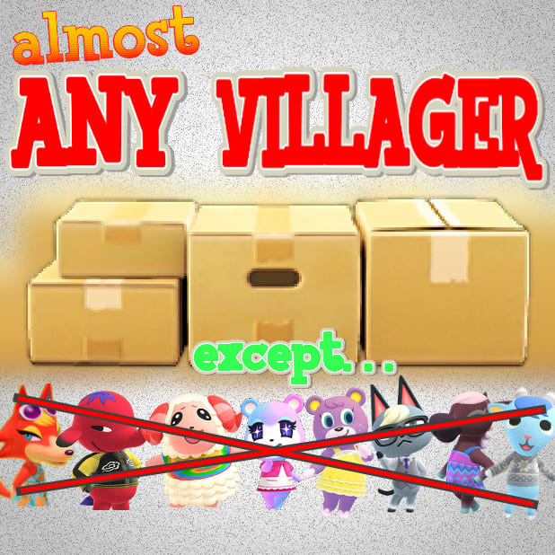 ACNH Dom in Boxes! Animal Crossing Villager