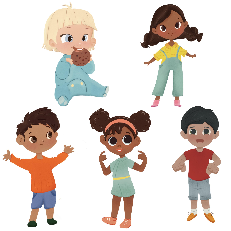 Create Cartoon Characters Design By Anastasiia An