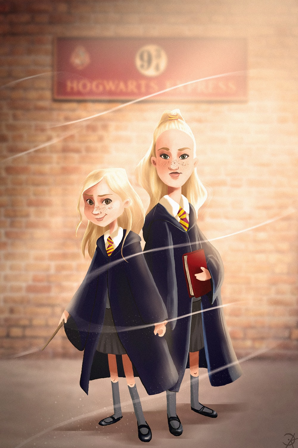 Draw You As A Harry Potter Character By Kimberlycandel Fiverr