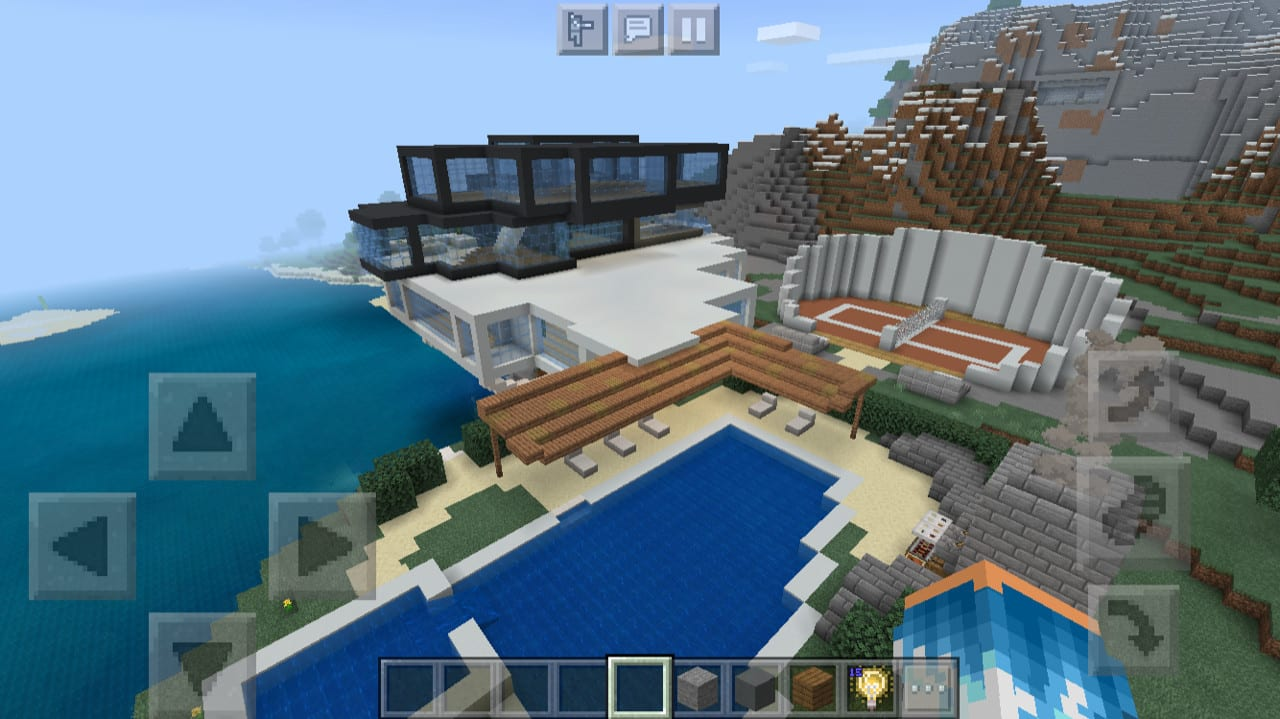 Build You A Huge Minecraft Modern Mansion By Minecraftuser19