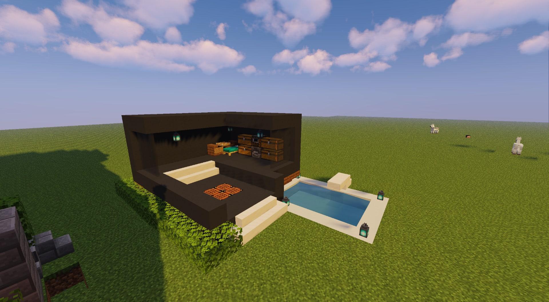 Build A Minecraft Modern House By Anonimkid