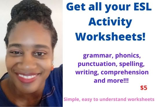 Create English Esl Activity Worksheets By Hannahsway
