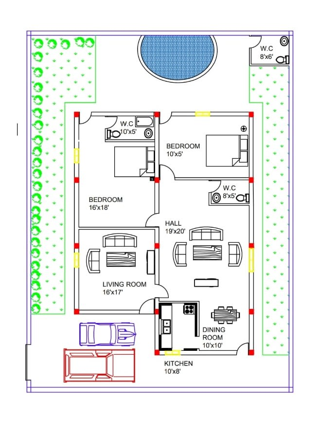 Provide Creative Floor Plans With 3d View And Reinforcement Details By Sitanshusinha Fiverr