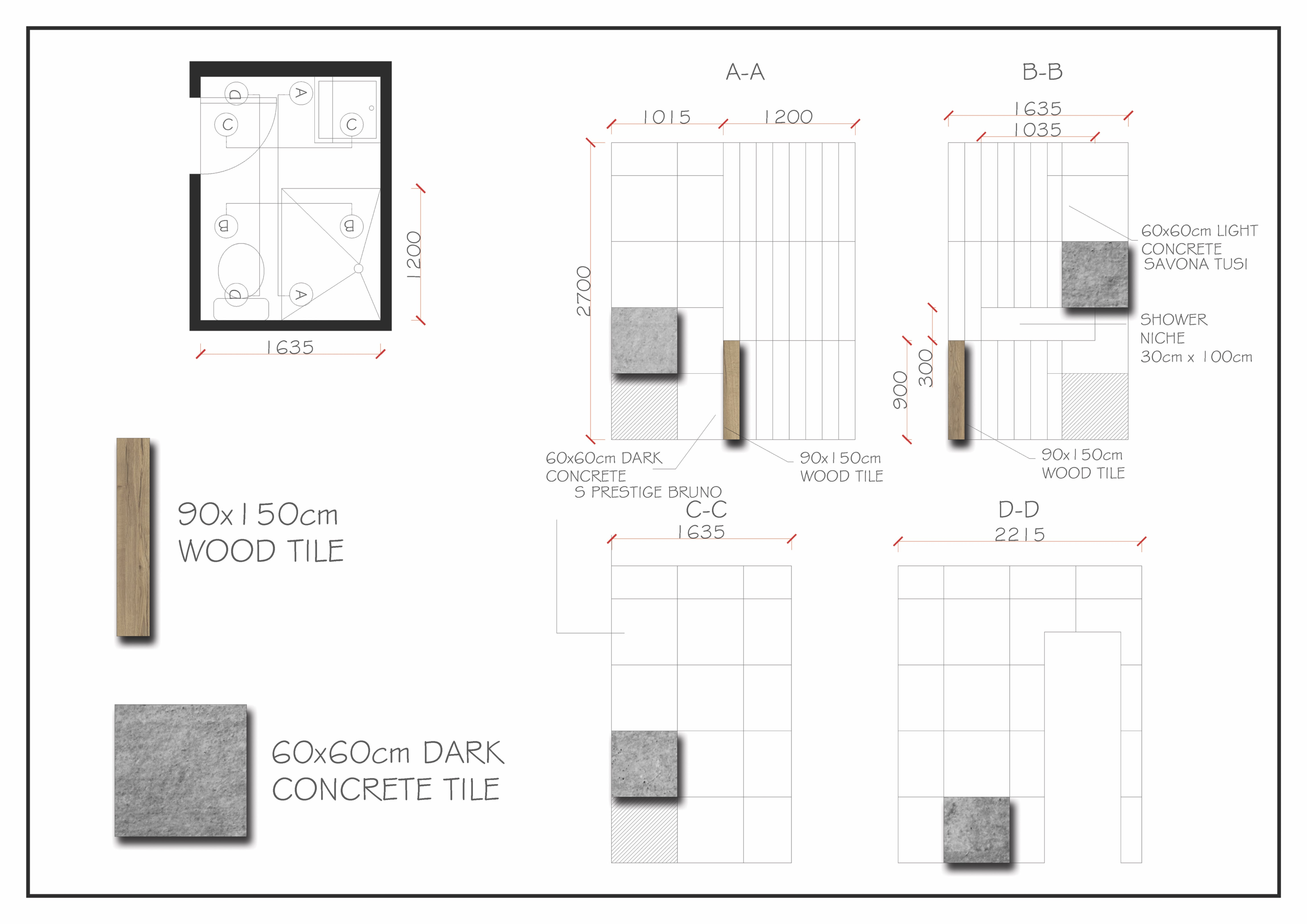 Provide Tile Layout For Floor Plans And Elevations By Charmaineauy Fiverr