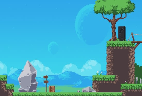 Make You A Complete 2d Game With Your Ideas By Pingoking