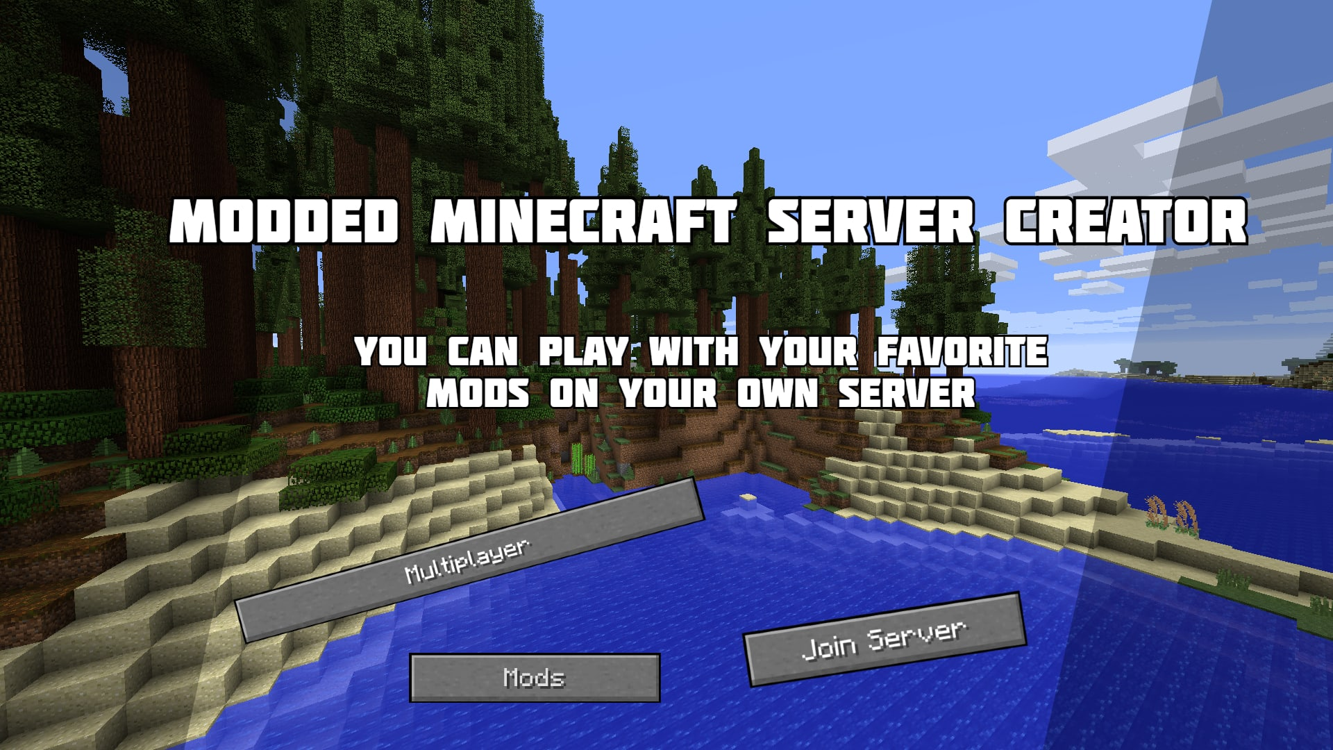 Make a modded minecraft server for you by Xomaminecraft Fiverr