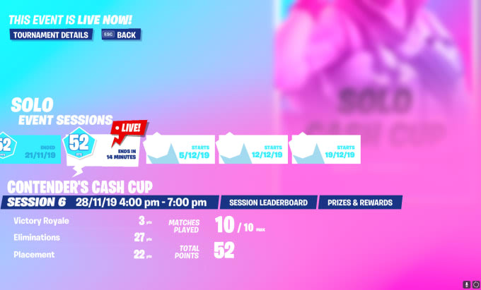 Fortnite Leaderboards Cash Cup Be Your Fortnite Competitive Coach For A Very Cheap Price By Saltyshak Fiverr